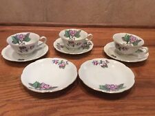 UCAGCO (UCG) China 3 Cups and 5 Saucers Made In Japan Unknown Pattern