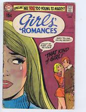 Girls' Romances #149 DC Pub 1970