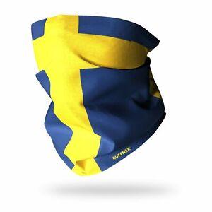 Snood Scarf Neckwarmer Neck Gaiter Flag of Sweden