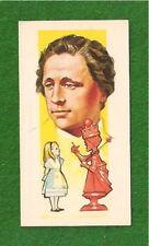 LEWIS CARROLL Charles Lutwidge Dodgson Alice in Wonder 1969 original card
