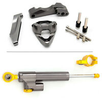 For Suzuki GSXR 1000 2001-2006 CNC Steering Damper w/Mounting Kit Bracket 2005