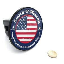 """2"""" Tow Hitch Receiver Cover Insert Plug for Most Truck & SUV - SMITH & WESSON"""