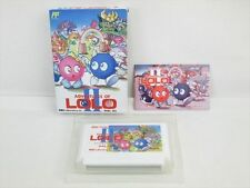 Adventures of LOLO II 2 Item REF/bcc Famicom Nintendo Import JAPAN Game fc