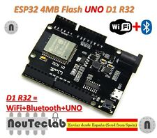 ESP-32 ESP32 ESP32S WiFi & Bluetooth 4MB Flash UNO D1 R32
