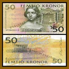 Sweden 50 Kronor, 2003 P-62b Jenny Lind Unc