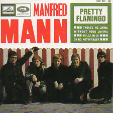 ★☆★ CD Single MANFRED MANN Pretty Flamingo  EP REPLICA 4-track CARD SLEEVE   ★☆★