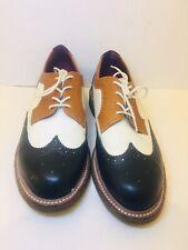 Dr Doc Martens Tricolor Oxford Wingtip Brogue Shoes Women US 9, UK 6 , E 41