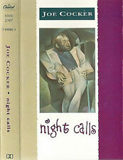 JOE COCKER NIGHT CALLS CASSETTE ALBUM BLUES ROCK POP ROCK