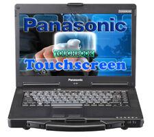 """Panasonic Toughbook CF-53 MK2 14""""★500GB   8GB★ TOUCHSCREEN HDMI  RS232 OBD"""