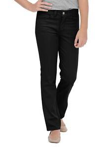 Dickies Big Girls 5-Pocket Stretch Twill Jean Pant (Black 7 8 10 12 14 16 18 20)