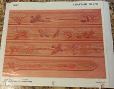 Vintage Tandy Craftaid #2721 for leather carving and tooling pheasant, hunting