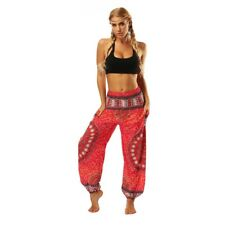 Women Yoga Afghani Indian Aladdin Trousers Wide Leg Palazzo Baggy Harem Pants