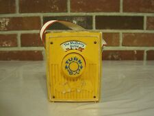 VINTAGE 1970 FISHER PRICE POCKET WINDUP RADIO