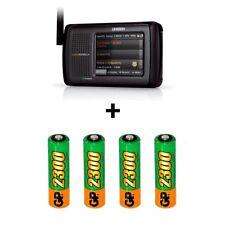 Uniden HomePatrol-2 Phase II Digital Scanner + 4 Rechargeable Batteries
