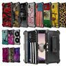 For Samsung Galaxy J7 2018 Star Refine J7V 2nd Gen J7 Crown Case+Holster Cover