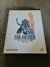 Final Fantasy XII The Complete Guide Limited Edition Hardcover by Piggyback