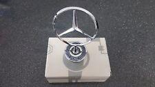 Chrome Genuine Mercedes Bonnet Mercedes MB Motorhaube Emblem ETOILE capot