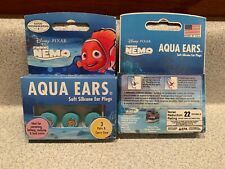 Aqua Ears Disney Finding Nemo Soft Silicone Ear Plugs