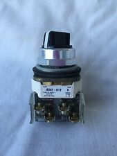 Allen Bradley 2 Position Switch 800T-H17 Series T W/2 Contact Blocks