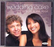Pascal & Ami ROGE: WEDDING CAKE Saint-Saens Faure Poulenc Ravel Dukas Chihara CD