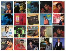 CONWAY TWITTY  RECORD ALBUM  PHOTO-FRIDG MAGNETS