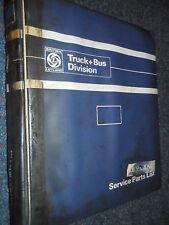 LEYLAND BEAVER SPARE PARTS LIST MANUAL BOOK TRACTOR 14B 18AR 1968 ORIGINAL BOOK