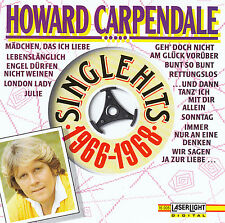 HOWARD CARPENDALE : SINGLE HITS 1966-1968 / CD