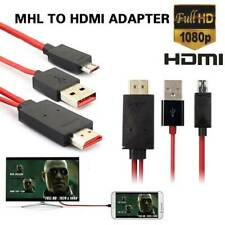 2M MHL USB to HDMI 1080P HD TV Adapter Cable for Samsung Galaxy Huawei Sony LG