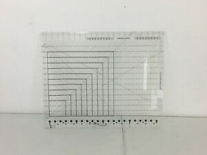 Creative Grids Non-Slip Stripology, XL Slotted Quilting Ruler
