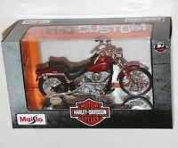 Maisto - Harley Davidson 1984 FXST Softail - Model Scale 1:18