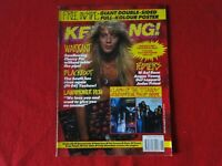 Vintage Rock N' Roll Magazine Kerrang Warrant Axl Rose Angus Young Blackfoot G72