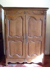 Superbe armoire Louis XV en chêne XVIIIe armadio Luigi XV