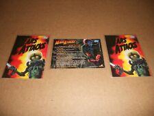 1994 Topps  Mars Attacks PROMO COMIC CARD  # 0   3 CARD LOT