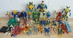 Job Lot Vintage Toy Biz Marvel/X-Men Figures inc  CYCLOPS + STORM (Hospiscare)