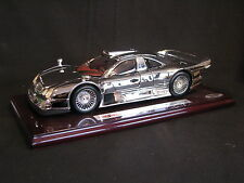 Maisto Mercedes-Benz CLK-GTR Street Version 1:18 Rhodium Plated (JS) #2