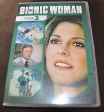 The Bionic Woman Season 3 5 DVD set Region 1 NTSC English audio only