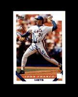 John Franco Hand Signed 1993 Topps New York Mets Autograph