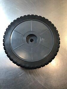 "Ridgid Replacement Wet Dry Vacuum Wheels 8"" x 2"" Hard Plastic Black & Gray #RP3"
