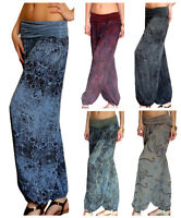 Ladies Harem Pants Trousers Ali Baba Baggy Boho Hareem Leggings Size 10 12 14 16