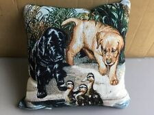 "USA NWOT Linda Picken The Next Generation 17"" x 17"" Tapestry Throw Pillow #567"