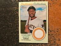 Starling Marte Pirates 2017 Topps Heritage Clubhouse Collection Relics JERSEY