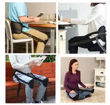 POSTURE SUPPORT STRAP stadium seat back lumbar waist yoga pilates travel belt