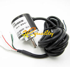 NEW Incremental Rotary Encoder 600p/r 6mm Shaft 5-24vdc