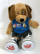 """Build A Bear 2016 Dog With Clothes And Shoes  16"""""""