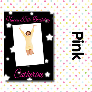 PERSONALISED PHOTO BIRTHDAY PARTY POSTERS ANY AGE, ANY NAME, ANY EVENT A002