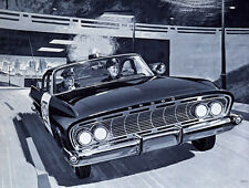 1961 Dodge Polara POLICE CAR, Refrigerator Magnet, 40 MIL