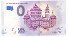 0-€-Schein Schloss Moritzburg bei Dresden Souvenirgeld