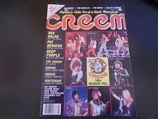 Pat Benatar, Deep Purple, Whitesnake, Dokken - Creem Magazine 1985