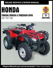 2001 Honda Recon 250 Haynes Online Repair Manual - 90 Day Access