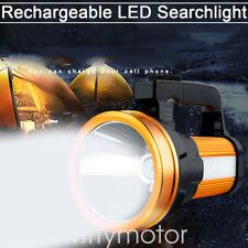 LED Searchlight Rechargeable Handheld Partable Flashlight Spotlight Super Bright